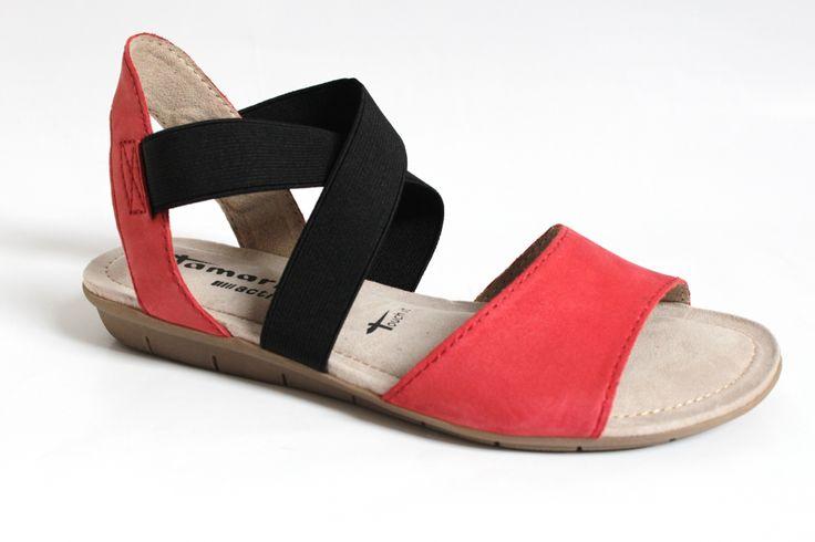 TAMARIS 1-28101-24 RED/BLACK