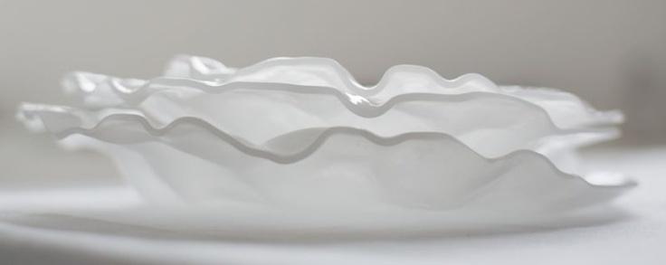 Andretto © Design - Table plates set 21 silk - Murano glass