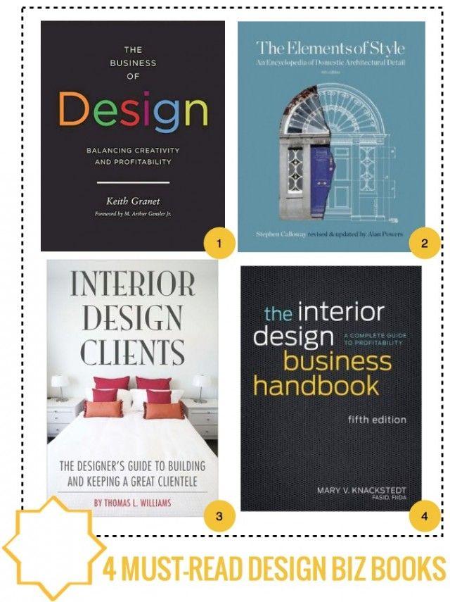 4 MUST READ INTERIOR DESIGN BIZ BOOKS