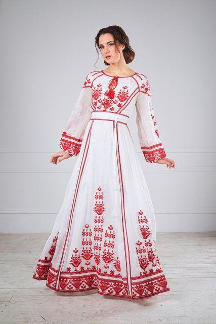 Сукня ексклюзивна з вишивкою, фото 1
