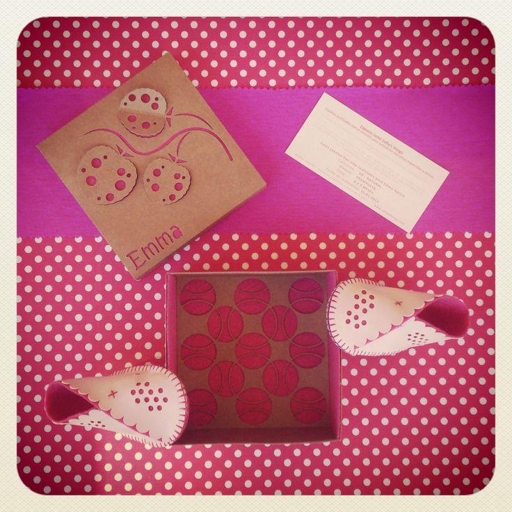 Packaging personalizado. Sofia's  things. www.sofiasthings.com