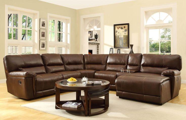 Home Elegance Blythe II 6Pcs Recliner Sectional Sofa 9606AH  For $1529