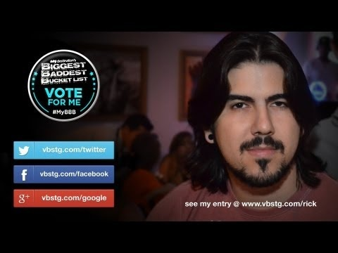 Hi friends, family... everybody!  We really need your help, it's quick and easy!.. just share Ricardo's link on your social networks! http://myde.st/12hicHZ -   For more information, and details about the voting, just click on the link, and it will take you to his entry on the competition!    http://myde.st/12hicHZ    My Destination's ultimate RTW trip with $50,000 cash prize!