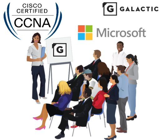 Galactic Solutions conduct the courses related to Oracle, CISCO, Microsoft, IBM and many others. When the course is complete, you will be eligible for the final exam and getting the graduation certificate. www.galacticglobal.com