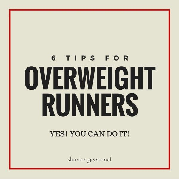 6 Tips for Overweight Runners