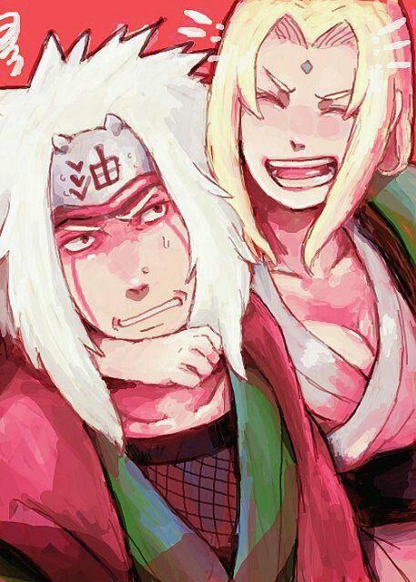 Jiraiya and Tsunade   Naruto
