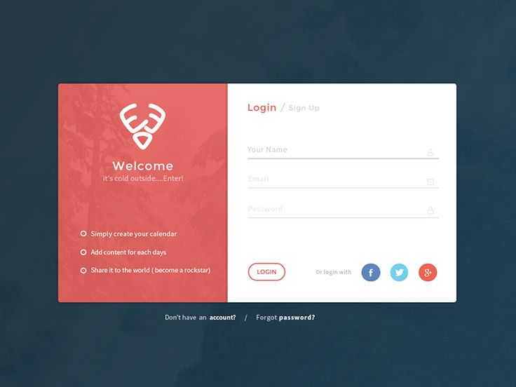 Hi Dribbblers, Check out my new work - Login for my current side project.  click L if you like it.  Stay tuned on my Twitter