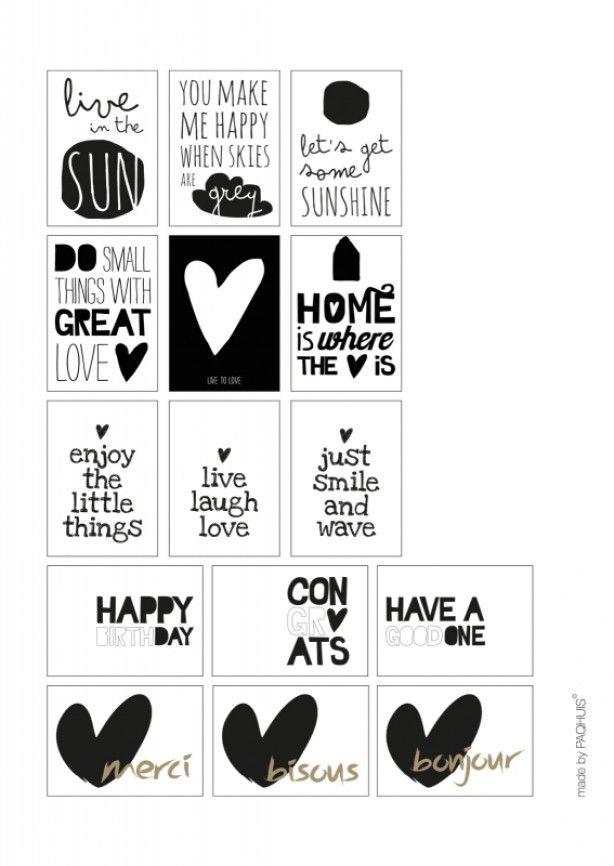 Mooie teksten om uit te printen