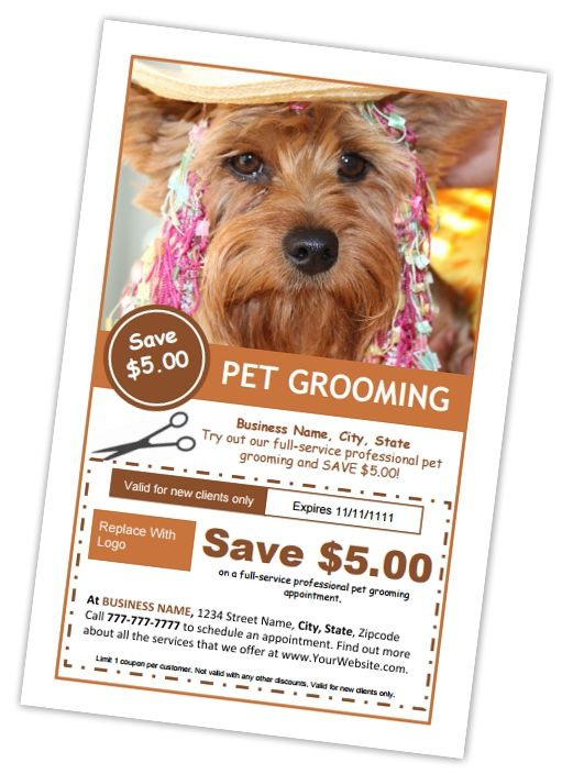 84 best dog groomers images on pinterest doggies animales and dog edit these pet grooming business templates right online from any device editable printable templates solutioingenieria Image collections