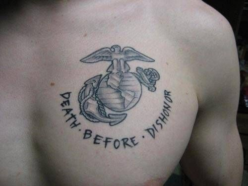 Will a Marine Corp tattoo affect me in my future acting career ...