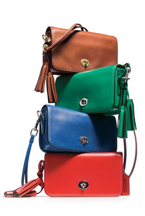 Coach Legacy Collection in Natural Colors- Mom pretty much only carried Coach bags. She passed her love of Coach on to me.