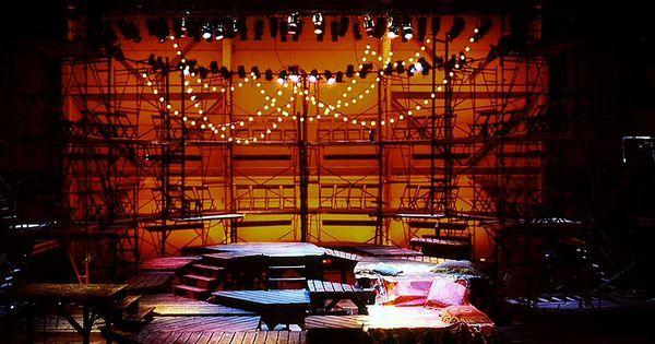 Candide. Conservator - Candide. Conservatory of Music University of Cincinnati. Scenic design by Paul Shortt. --- #Theaterkompass #Theater #Theatre #Schauspiel #Tanztheater #Ballett #Oper #Musiktheater #Bühnenbau #Bühnenbild #Scénographie #Bühne #Stage #Set