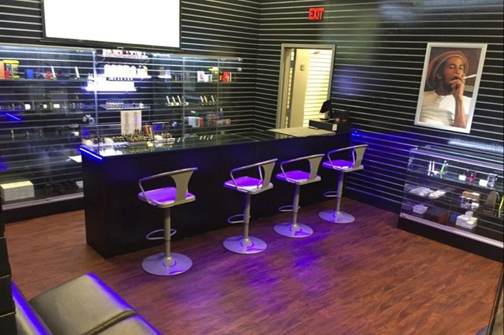 Georgia man says he hopes to see toxic habits go up in smoke at his new vape shop and lounge business.