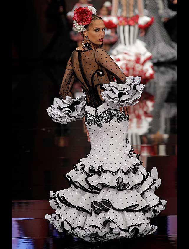 comprar nuevo venta de descuento envío gratis SIMOF 2018: Teressa Ninu Atelier, en fotos | Vestidos de flamenca ...