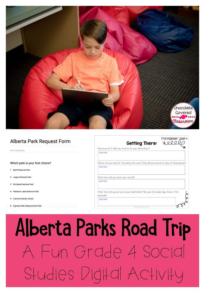 Your Grade 4 students will love this Digital Activity. You will love how easy it is for them to complete in Google Slides. Students will love learning about Alberta's National and Provincial Parks in a fun and engaging way!