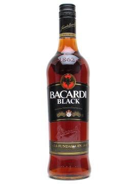 Bacardi Black Rum    Premium dark rum from the world of Bacardi.