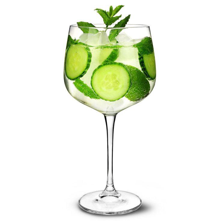 Gin Cocktail Glasses 700ml - Set of 6 - Copa de Balon Gin Balloon Glass