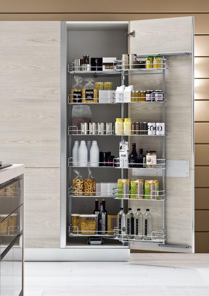 17 migliori idee su dispensa cucina su pinterest mobili for Ante x cucina