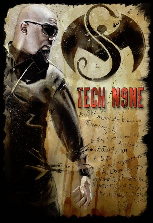 tech n9ne pist | Latest Tech N9ne x Rob Prior Collaboration ONLY Available At St. Louis ...