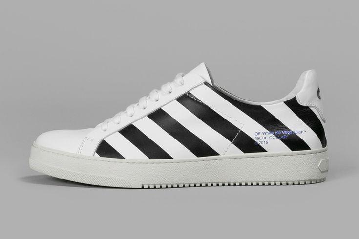 "OFF-WHITE c/o VIRGIL ABLOH ""Blue Collar"" Diamonds Sneaker Collection"