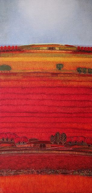 687 - Summer days #3 - 60x120cm - Rob van Hoek landscapes