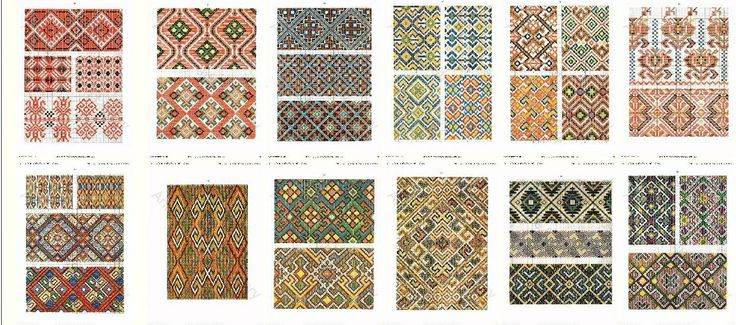 Croatia Knitting Patterns : 17 Best images about Cross stitch overall patterns and motifs on Pinterest ...
