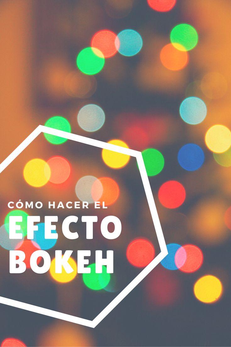 En este tutorial te explicamos qué es el efecto bokeh y cómo conseguir un fondo desenfocado creativo fácilmente con tu cámara. #efecto #bokeh #fondo #borroso #desenfocado #desenfoque #creativo
