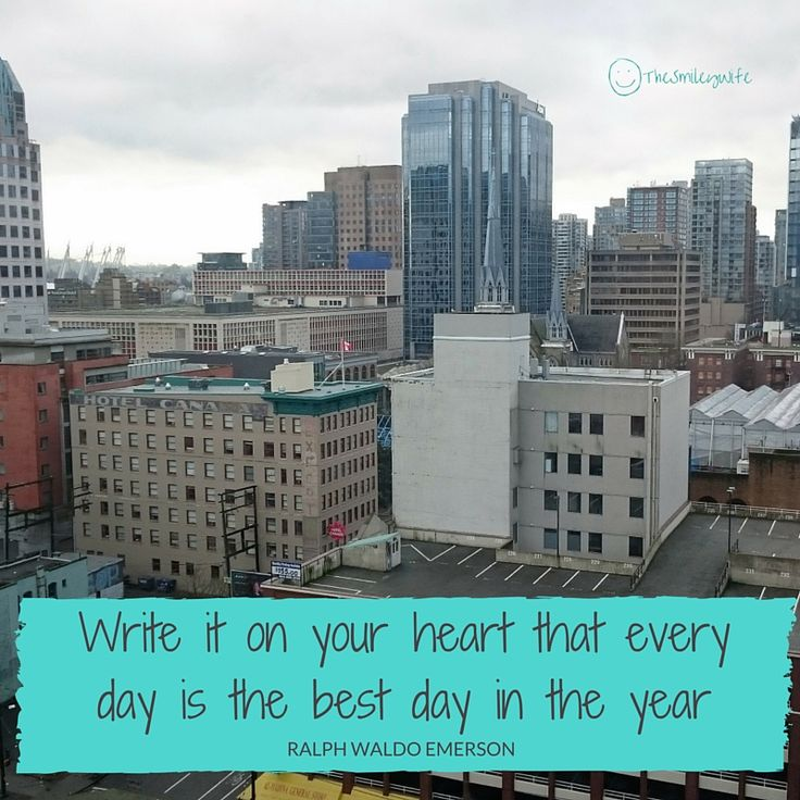 It's too easy to wait for the perfect day...make today that day :) #WednesdayWonder #smile #ourlife
