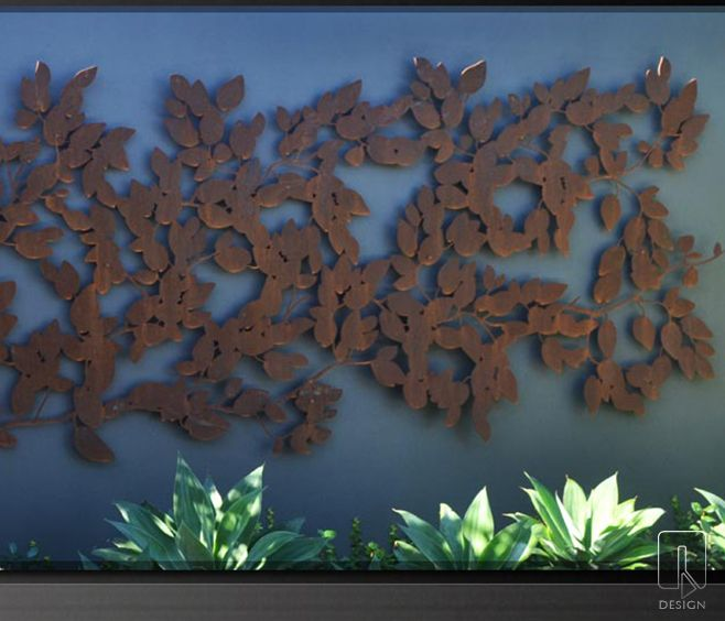 Creeping Fig | Metal Laser Cut Screens | Outdoor Screens and Screening | Wall Features | WaterGarden Warehouse, Perth, Western Australia.