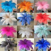 Wholesale 10-100pcs special color ostrich feathers 10-12 inches / 25-30cm