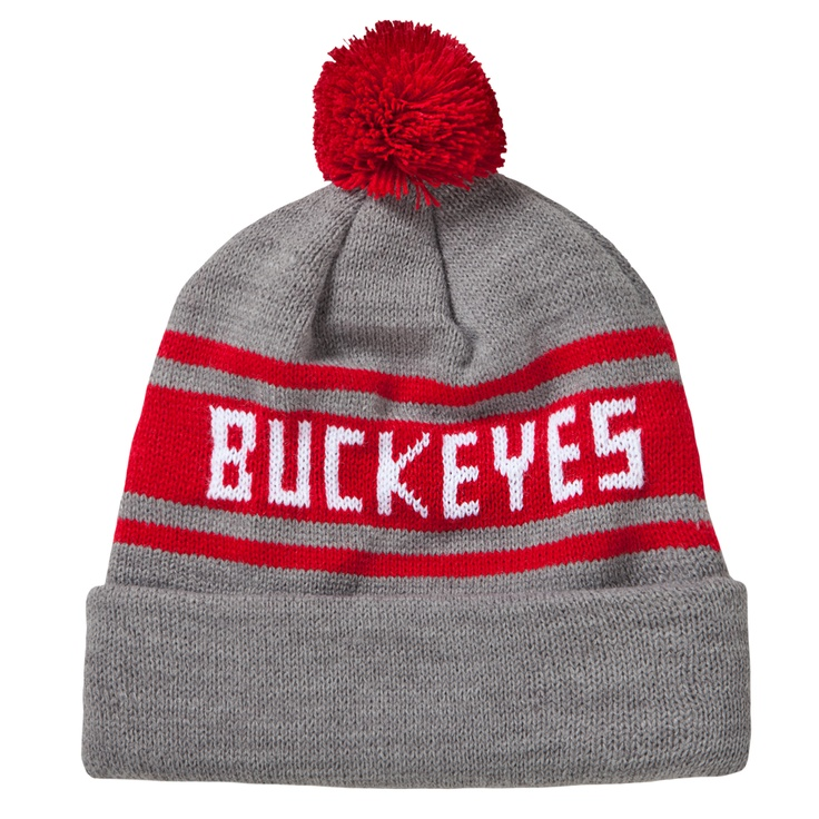 uk availability 29428 454fd get homage ohio state buckeyes college scarlet grey ski hat cap beanie  18.00 57677 2ac56