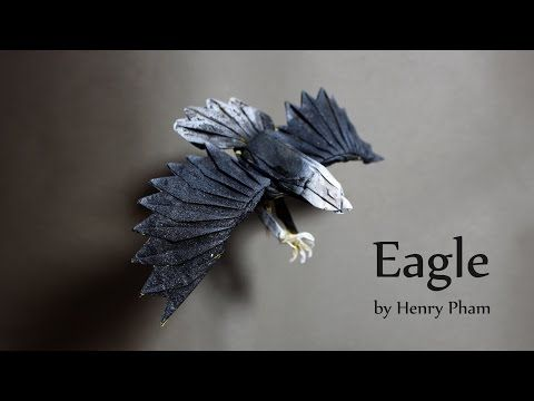 How to make an origami eagle (Henry Phạm) - YouTube