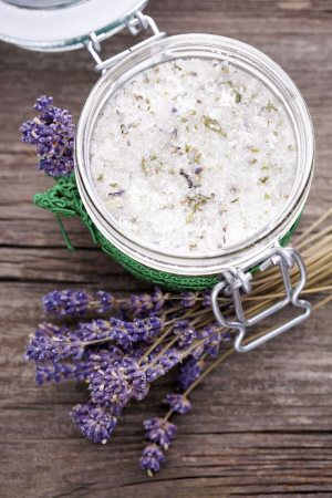 mix 1 cup exfoliating base with 1 cup body oil, then add 5-10 drops of essential oil  1. Choose an exfoliating base: Almond Meal, Sea Salt or Brown Sugar 2. Choose a moisturizing oil: Coconut Oil, Almond Oil or Olive Oil 3. Choose an essential oil: Lavender, Eucalyptus or Rose