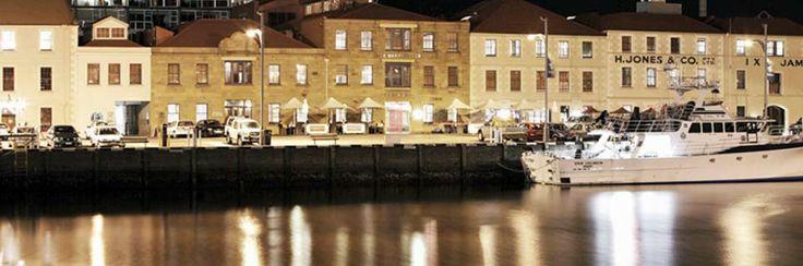 I love the Henry Jones Art Hotel in Tasmania.  Stay here...