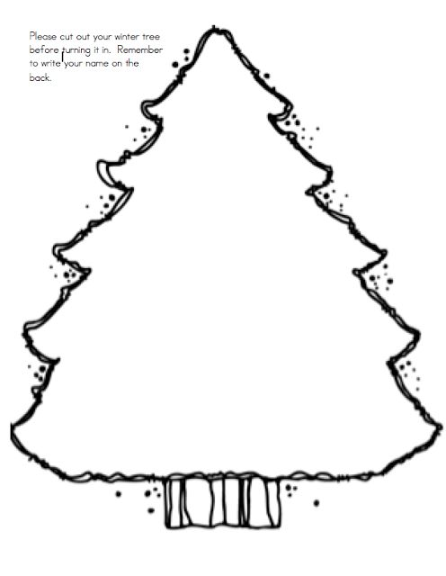Winter Trees Freebie