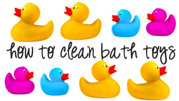 I really need to do this! Bath Toys | How To Clean (Almost) Anything And Everything