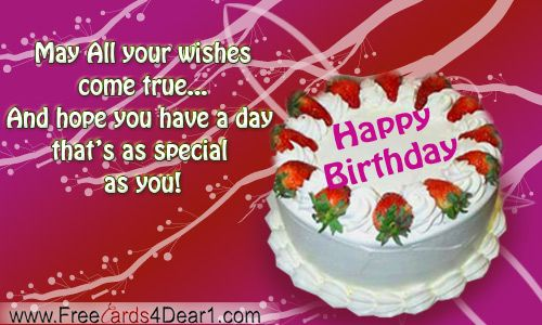 Birthday Ecards On Facebook ~ Facebook images of free e cards birthday greetings greeting card with roses and