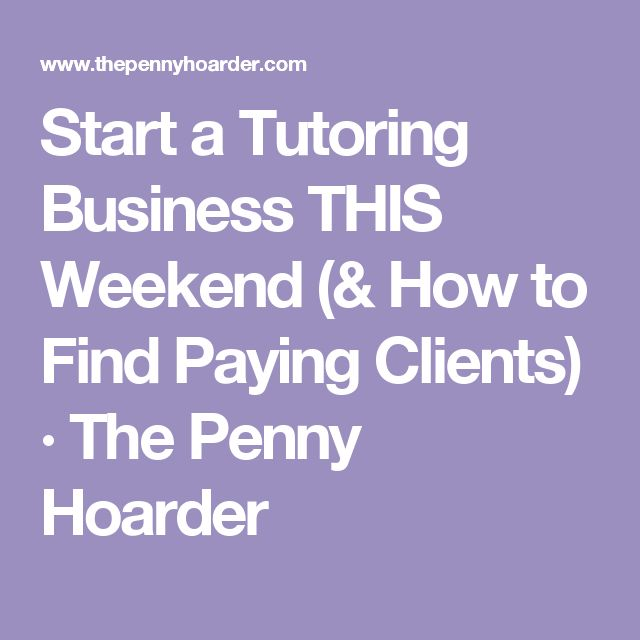 How to Start a Free Tutoring Service