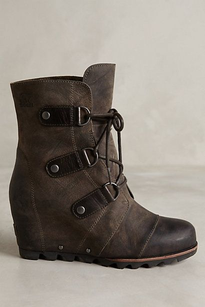 Sorel Joan of Arctic Wedge Boots #anthrofave #anthropologie.com
