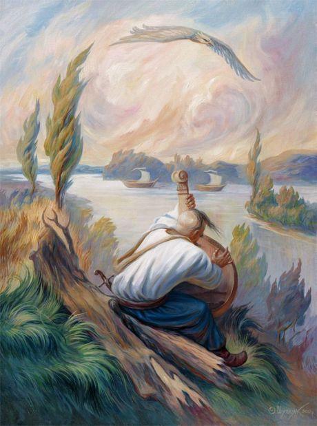 Ukrainian artist. Олег Шупляк - Дух свободи (Тарас Шевченко) / Oleg Shuplyak - Spirit of Freedom (Taras Shevchenko)