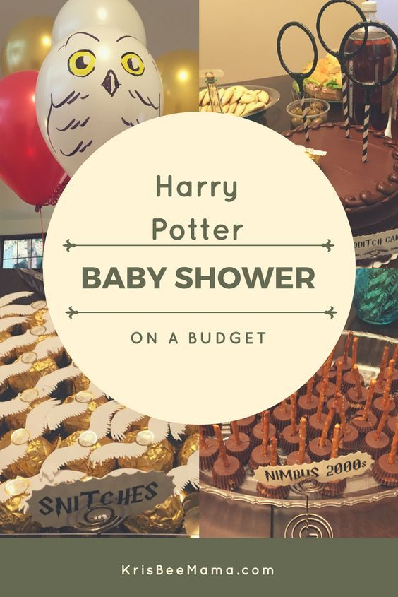 Throw a Harry Potter baby shower (or other party) on a budget!