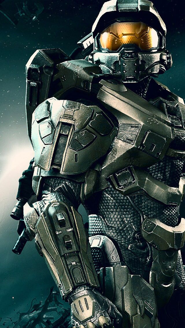 Master chief of the halo legacy.