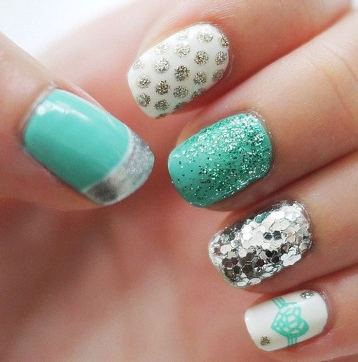 best 25 christmas nail designs 2015 ideas on pinterest christmas nail designs nail designs for christmas and holiday nail art - Nail Design Ideas 2015