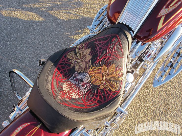 2008 Harley Davidson Softail Deluxe Custom Seat