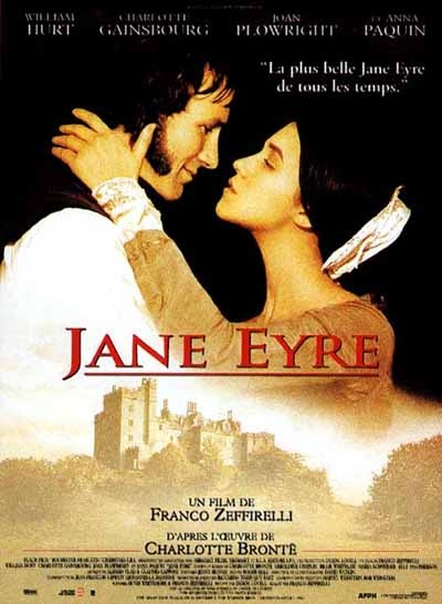 Charlotte Gainsbourg (Jane Eyre) and William Hurt (Rochester) - Jane Eyre directed by  Franco Zeffirelli (1996) #charlottebrontë