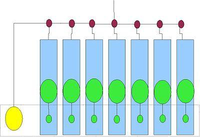 Structure de coordination de projet (Le coordinateur n'est qu'un gestionnaire du projet)