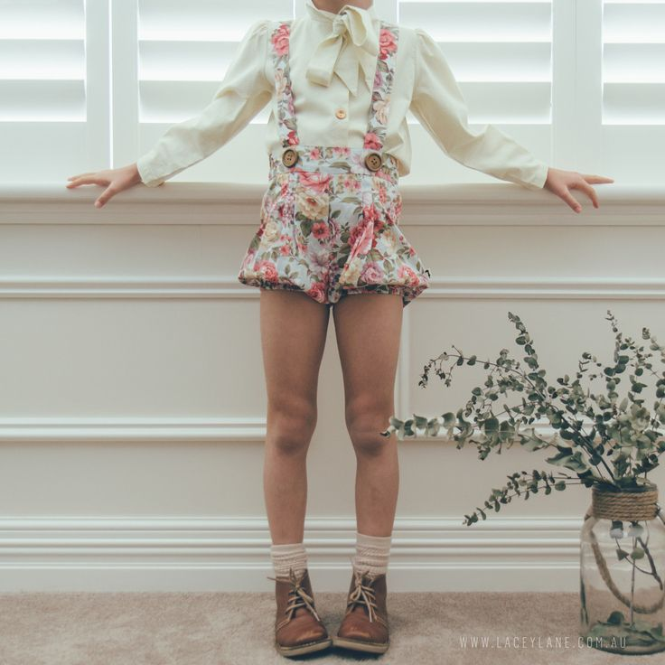 Evie Suspender Bloomers from Lacey Lane