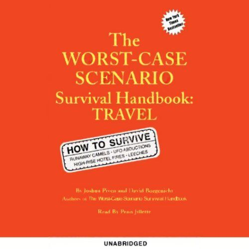 "Another must-listen from my #AudibleApp: ""The Worst-Case Scenario Survival Handbook"" by Joshua Piven, narrated by Penn Jillette."