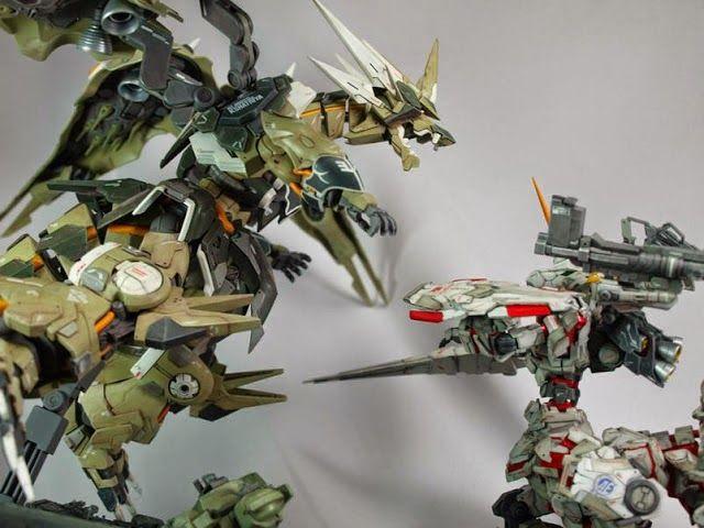 10 Great and Ridiculous Gundam Kit Bash - Gundam Kits Collection News and Reviews