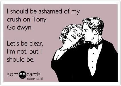 LOL #Scandal #Tony Goldwyn